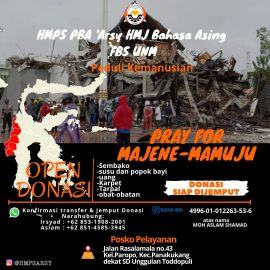 Pray For Majene-Mamuju